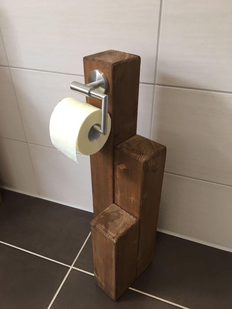 Turbo Toilettenpapierhalter klein - Dein-Holzpferdeshop.de TP65